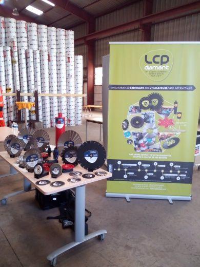 Le stand LCP à la journée technique LMCR (1)